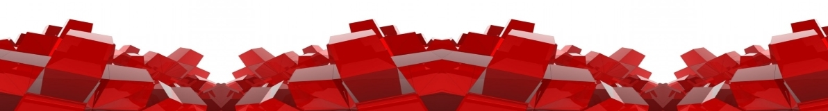Red Cube Footer